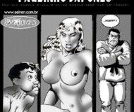 Pauzinho japonês - quadrinhos eróticos