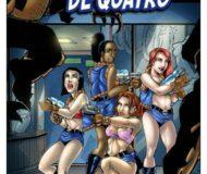 As Defensoras de Quatro N.1 - Quadrinho Erotico