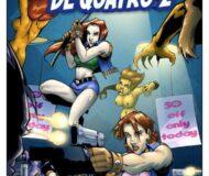 As Defensoras de Quatro N.2 - Quadrinho Erotico