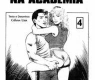 Gozando na Academia - Quadrinho Erotico