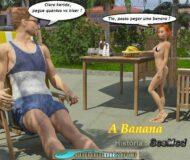 Banana gostosa - Quadrinhos Eroticos
