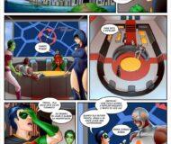 Liga da justiça - Quadrinhos Eroticos