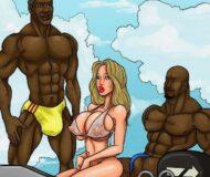 conspiração do biquini - quadrinhos eroticos