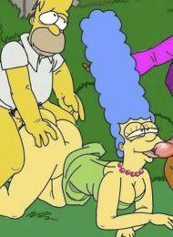 simpsons-porno-na-grama-quadrinhos-eroticos
