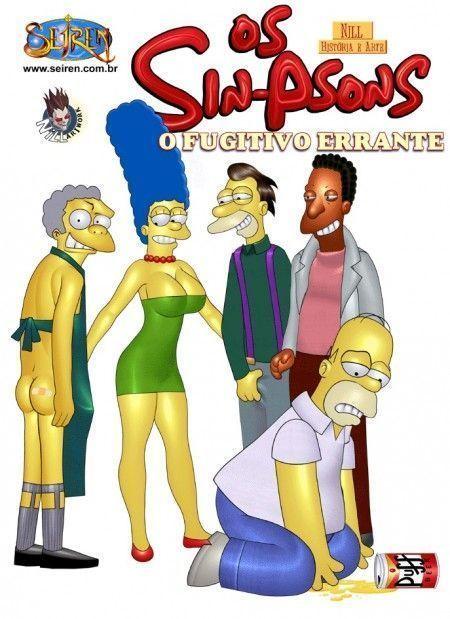 Homer fugitivo errante 1 - quadrinhos eroticos