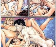 um cara de sorte - quadrinhos eroticos