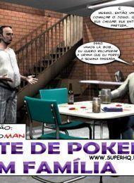Noite de poker familiar