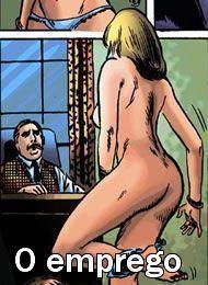 O emprego - quadrinho erotico