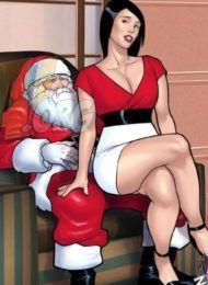 comendo tia gostosa no natal - conto erotico