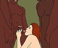 Esposinha apetitosa experimentando orgias