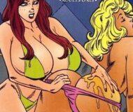 Gatas sedutoras sentindo prazer #1